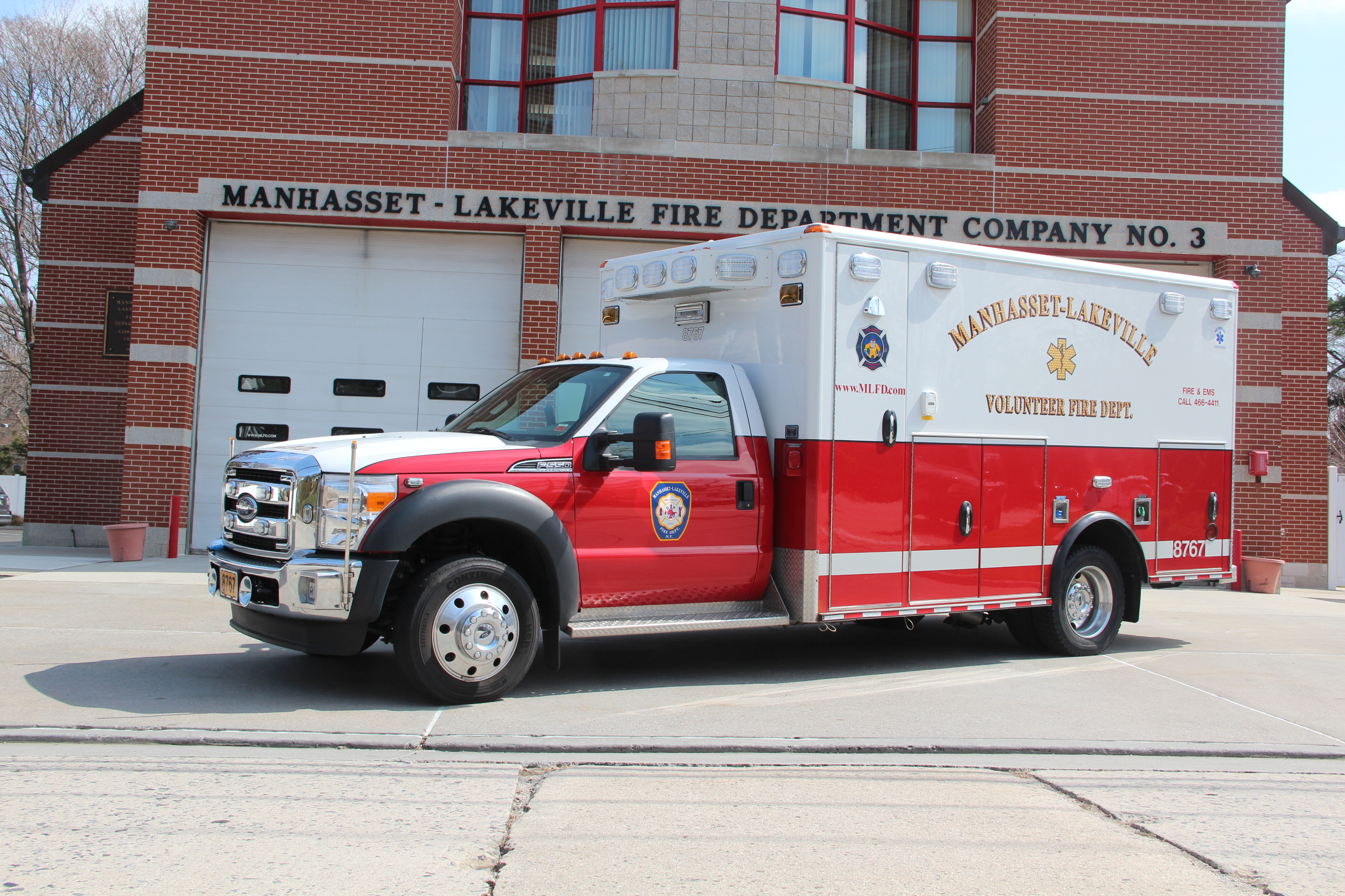 2014 Wheeled Coach Type I Ambulance